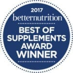 2017 Best of Supplements Award Winner