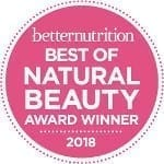 'Best of Natural Beauty' Award