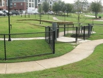 chain link park fence