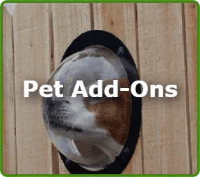 Pet Add-Ons on Fences