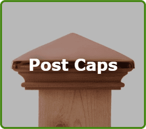 Fences Post Caps