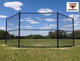 Chain-Link Baseball Backstop Fences