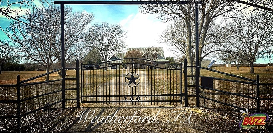 Weatherford Ranch Gate