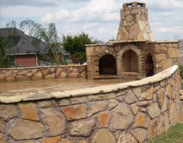 Custom Stone Patio Prosper, Tx