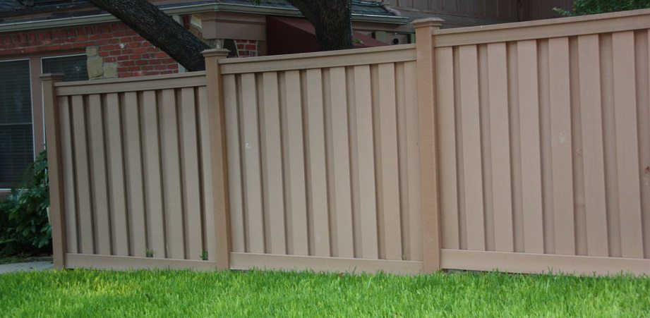 Easy Care Composite Fences From Trex Installed By Buzz