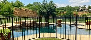 pool safety fence buzz fence