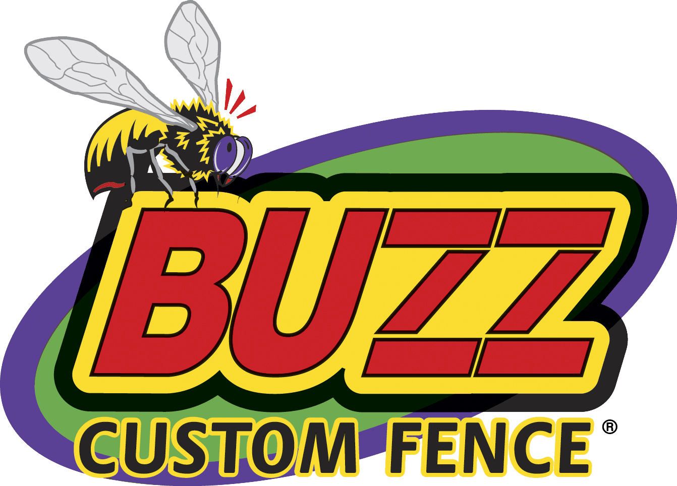 buzz custom fences logo