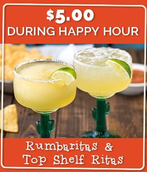 Rumbaritas & Top Shelf Ritas